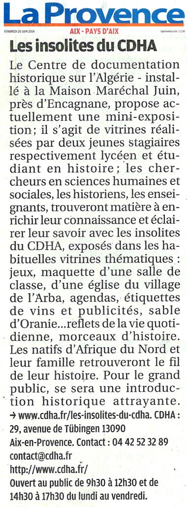 centre de documentation historique sur lalg233rie cdha