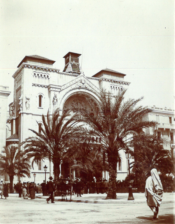 Cathédrale de Tunis en 1902