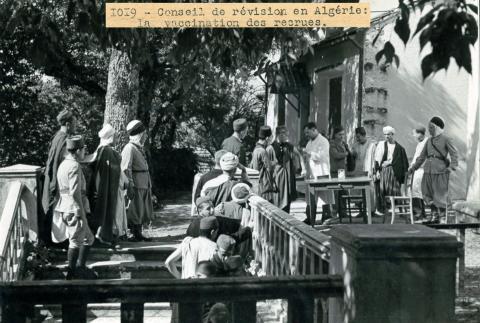 Recrutement vaccination Algérie