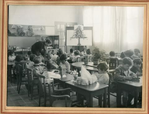 Classe maternelle à Oran