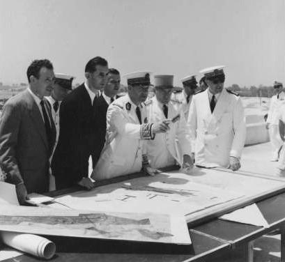 Francis Lacoste à Casablanca en 1954