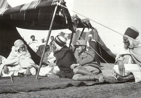 Georges HIRTZ en tournée dans le Sud Algérien