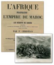 Afrique française Empire de Maroc P. Christian