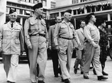 Les 4 généraux à Alger